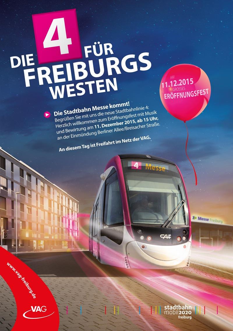 Die Stadtbahn Messe kommt