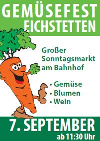Am 7. September findet in Eichstetten am Kaiserstuhl das 8. Gemüsefest statt